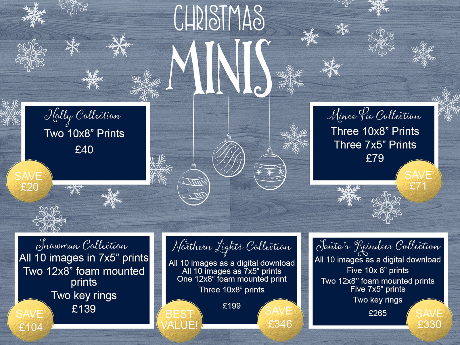 christmas mini photo session price list hayley morris photography